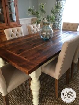 Amazing Farmhouse Kitchen Tables Ideas 15