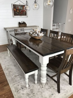 Amazing Farmhouse Kitchen Tables Ideas 17