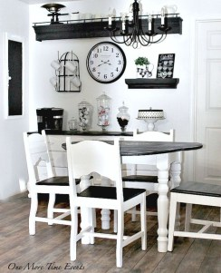 Amazing Farmhouse Kitchen Tables Ideas 28