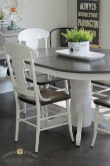 Amazing Farmhouse Kitchen Tables Ideas 53