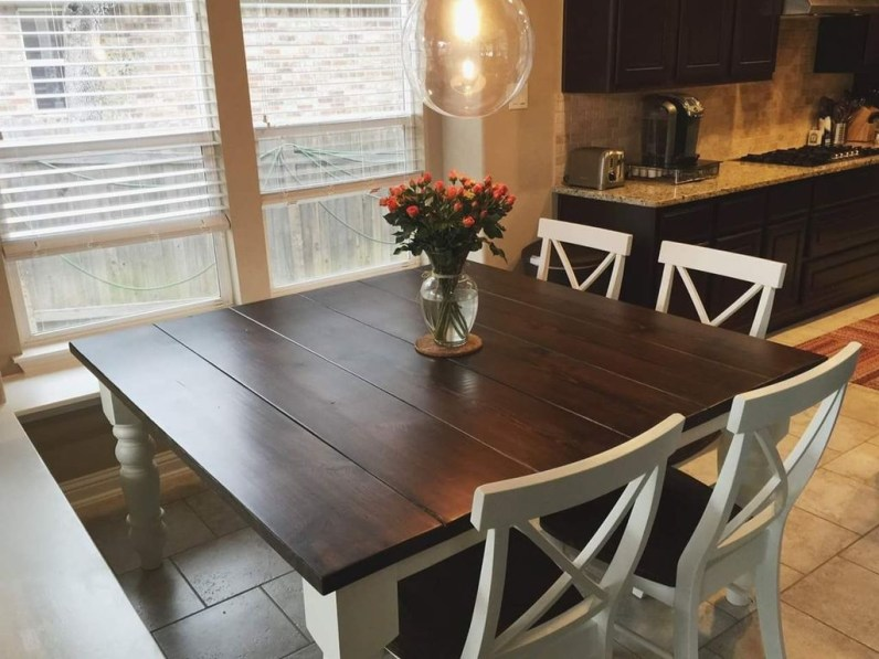 Amazing Farmhouse Kitchen Tables Ideas 55