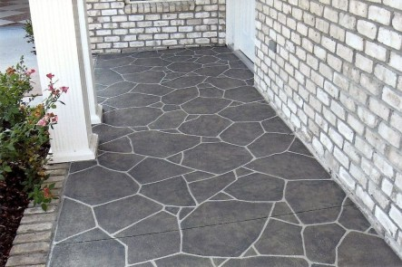 Beautiful Garden Flooring Ideas 10