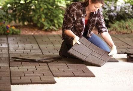 Beautiful Garden Flooring Ideas 12