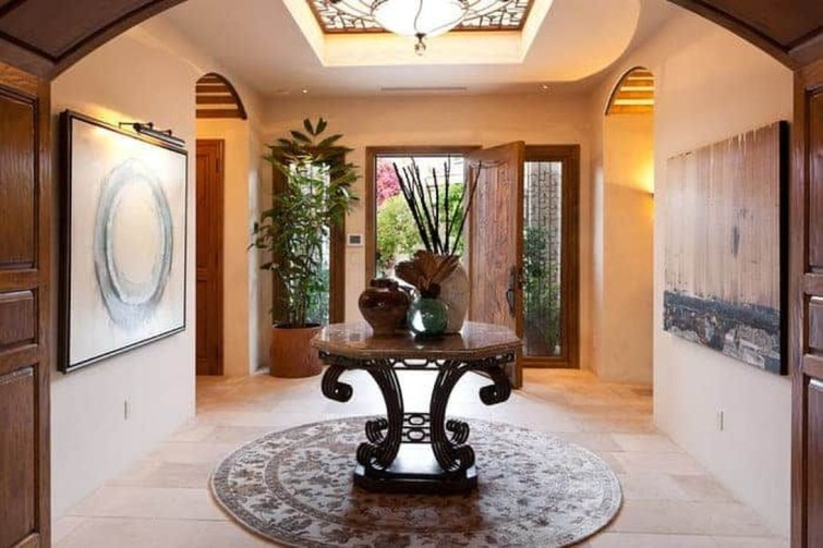 Chic And Simple Entrance Ideas For Your House 48