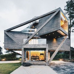 Simple House With Warm Wooden Interior 19