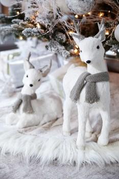 Adorable White Christmas Decoration Ideas 31