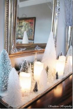 Adorable White Christmas Decoration Ideas 33