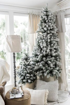 Adorable White Christmas Decoration Ideas 45