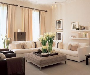 Beautiful Neutral Living Room Ideas 14