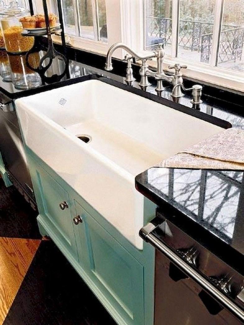 Best Farmhouse Kitchen Sink Ideas 37