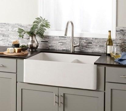 Best Farmhouse Kitchen Sink Ideas 43