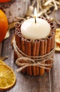 Charming Christmas Candle Decor Ideas 45