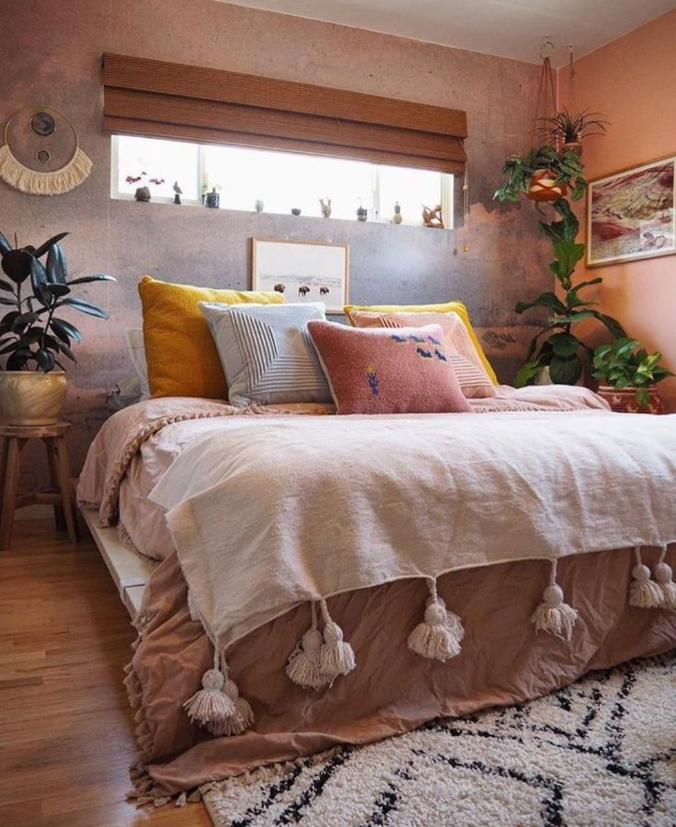 Creative Bohemian Bedroom Decor Ideas 34