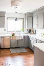Cute Farmhouse Kitchen Remodel Ideas 06