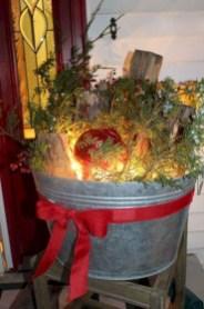 Cute Outdoor Christmas Decor Ideas 23