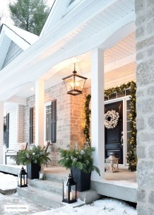 Cute Outdoor Christmas Decor Ideas 47