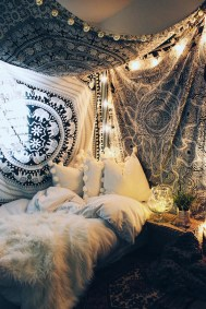 Elegant Bohemian Bedroom Decor Ideas 03