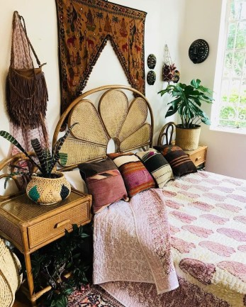 Elegant Bohemian Bedroom Decor Ideas 07
