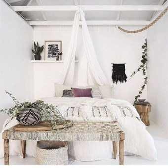 Elegant Bohemian Bedroom Decor Ideas 36