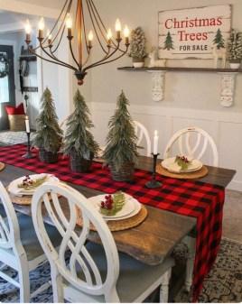 Fascinating Farmhouse Christmas Decor Ideas 47