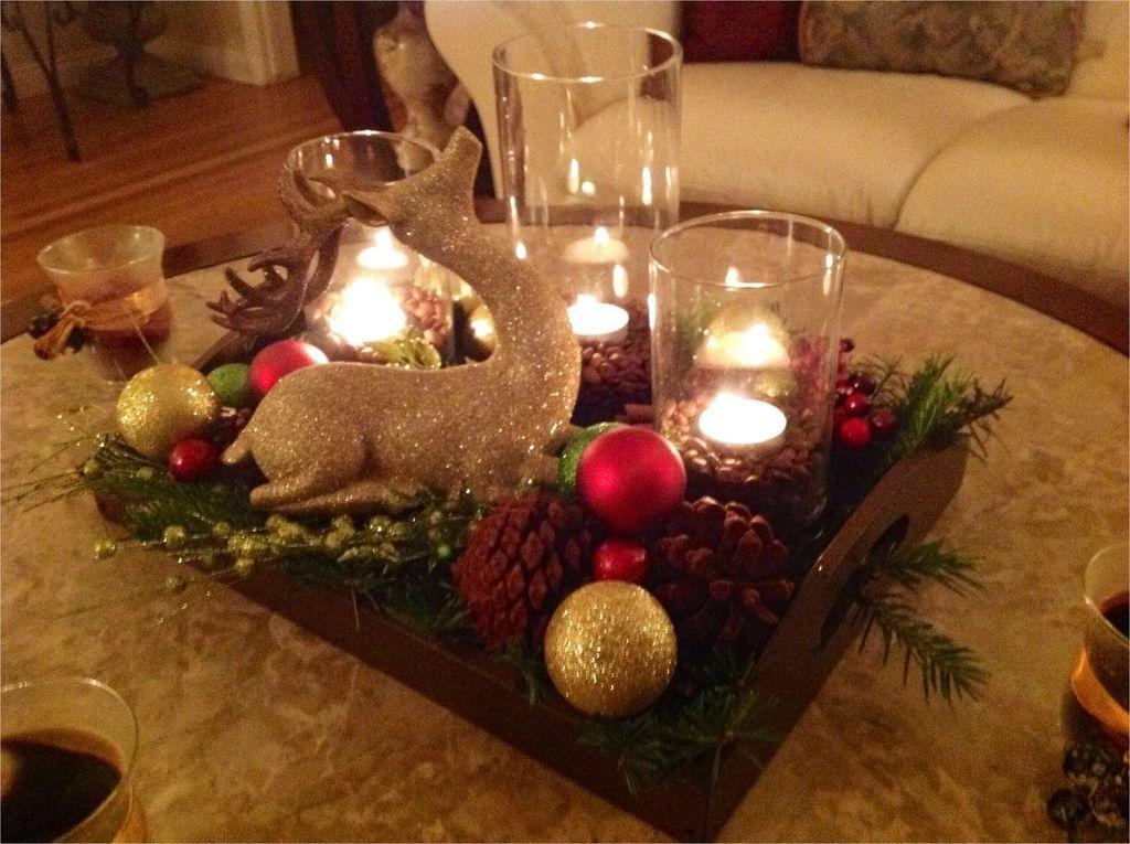 Gorgeous Christmas Apartment Decor Ideas 40