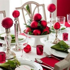 Lovely Red And Green Christmas Home Decor Ideas 10