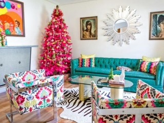 Lovely Red And Green Christmas Home Decor Ideas 11