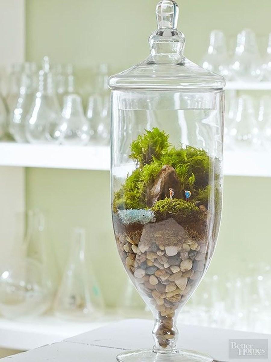 Pretty Diy Christmas Fairy Garden Ideas 13