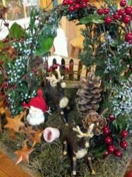 Pretty Diy Christmas Fairy Garden Ideas 28