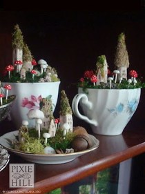 Pretty Diy Christmas Fairy Garden Ideas 30