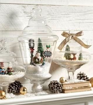 Pretty Diy Christmas Fairy Garden Ideas 31
