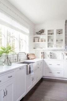 Pretty White Kitchen Backsplash Ideas 07