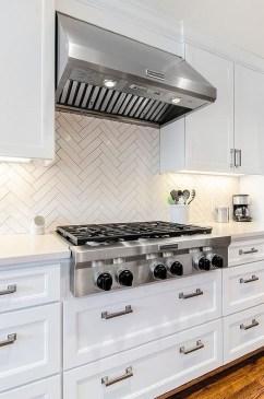 Pretty White Kitchen Backsplash Ideas 33