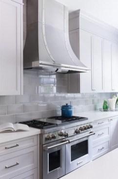 Pretty White Kitchen Backsplash Ideas 35