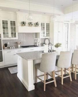 Pretty White Kitchen Backsplash Ideas 45