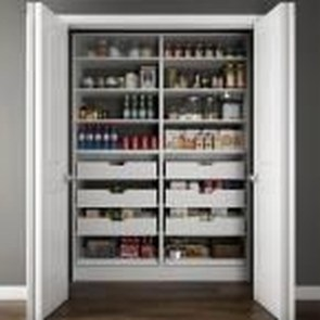 Simple Minimalist Pantry Organization Ideas 31