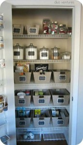 Simple Minimalist Pantry Organization Ideas 41