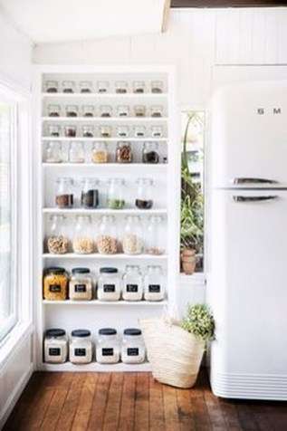 Simple Minimalist Pantry Organization Ideas 47