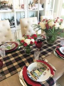 Stunning Christmas Dining Table Decoration Ideas 02