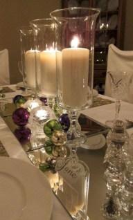 Stunning Christmas Dining Table Decoration Ideas 35