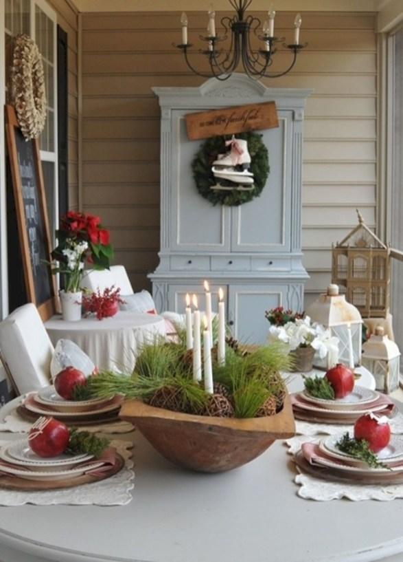 Stunning Christmas Dining Table Decoration Ideas 50