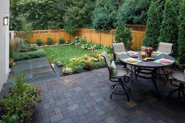 Attractive Small Patio Garden Design Ideas For Your Backyard 29