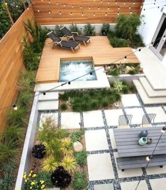 Attractive Small Patio Garden Design Ideas For Your Backyard 54