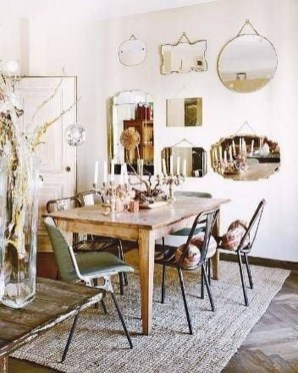 Awesome Bohemian Dining Room Design And Decor Ideas 03