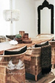 Awesome Bohemian Dining Room Design And Decor Ideas 17