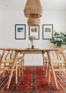 Awesome Bohemian Dining Room Design And Decor Ideas 19