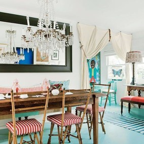 Awesome Bohemian Dining Room Design And Decor Ideas 31