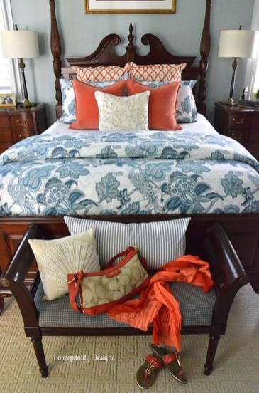 Casual Traditional Bedroom Designs Ideas For Home 04