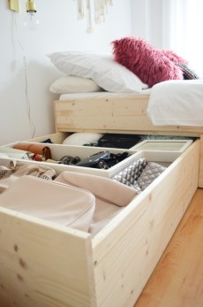 Creative Diy Bedroom Storage Ideas For Small Space 12