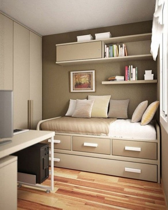 Creative Diy Bedroom Storage Ideas For Small Space 49